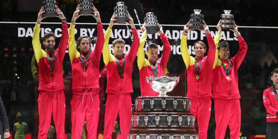 España Campeona de la Copa Davis 2019